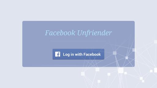 Facebook Unfriender Pro