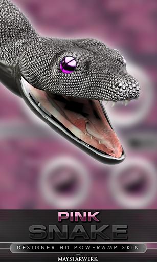 后皮肤粉色蛇