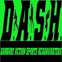 Danbury Action Sports HQ DASH logo