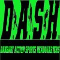 Danbury Action Sports HQ DASH logo