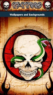Tattoo Skull wallpapers ☠ HD - screenshot thumbnail