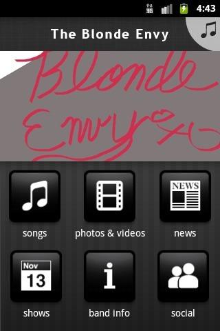 The Blonde Envy - screenshot