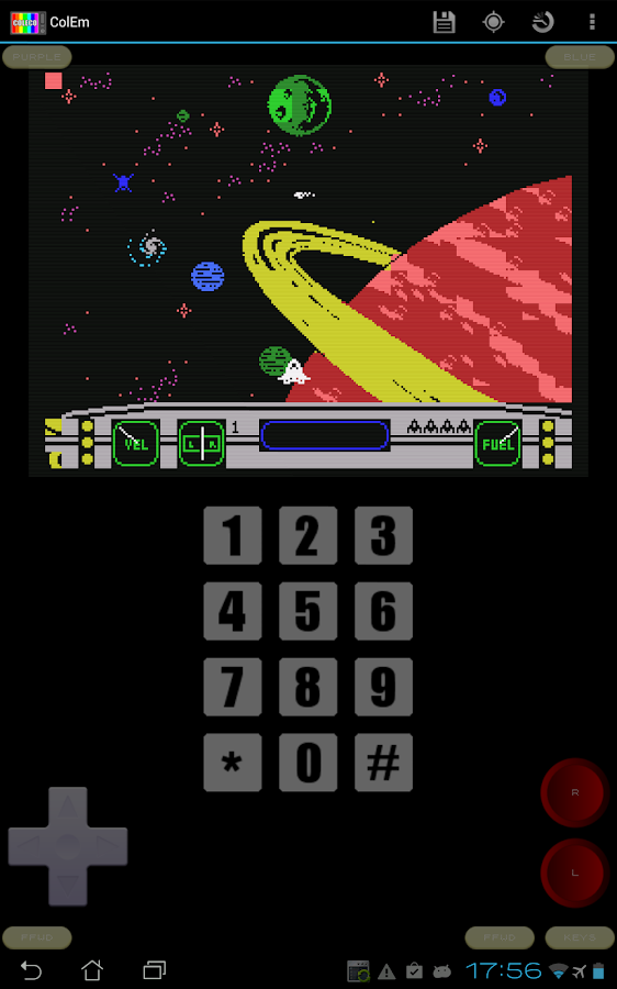 ColEm Deluxe - Coleco Emulator- screenshot