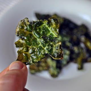 Salt & Vinegar Kale Chips.