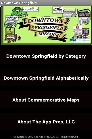 Downtown Springfield - screenshot