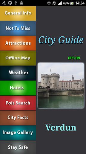 Verdun Offline Map Guide