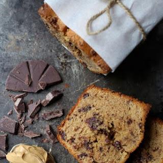 Peanut Butter Chocolate Chip Pound Cake