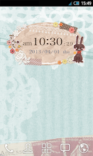 *happy* Clock Widget- screenshot thumbnail