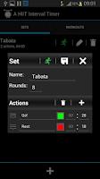Screenshot of A HIIT Interval Timer