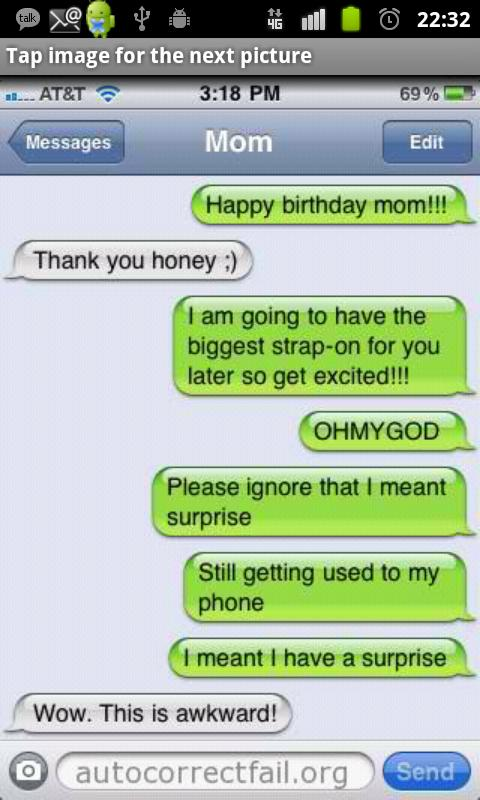 Autocorrect Fail - screenshot