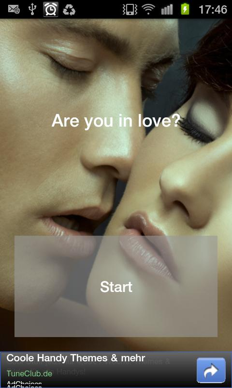 Are you in love? - screenshot