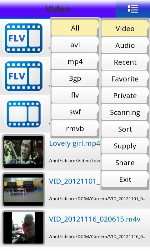 Free Pro Video Player Avi Mp4 - screenshot