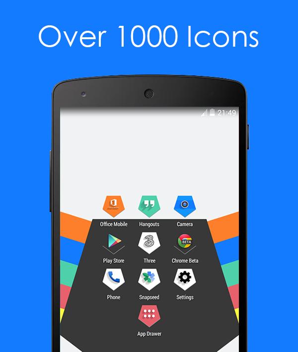 Cinque Icon Pack - screenshot