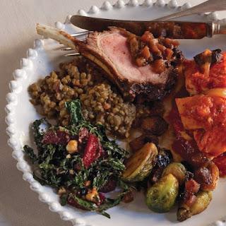 Kale, Blood Orange, and Hazelnut Salad