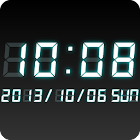 LED clock widget WT-Me Clock icon