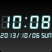 LED clock widget WT-Me Clock