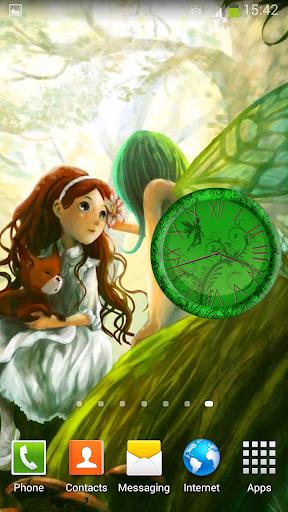 仙女 時鐘 小工具