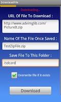 Screenshot of DownloadFile