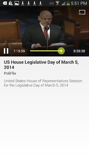 US House Legislative Sessions
