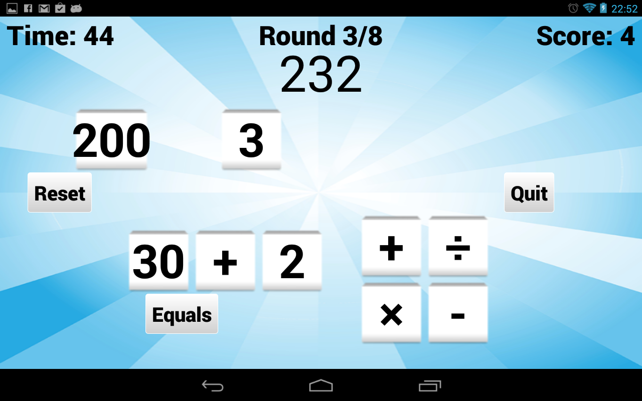 Vowel Please! - Countdown game- screenshot