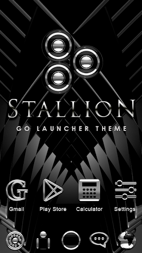 Stallion GO Launcher Theme