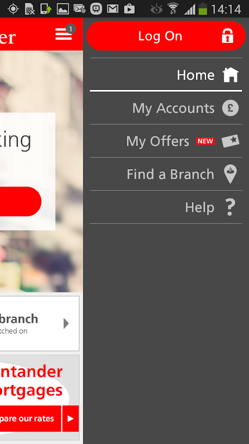 Personal Banking - screenshot