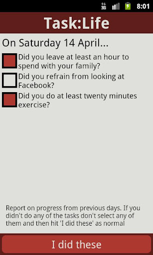 Task:Life Performance Tracker v14.0 APK