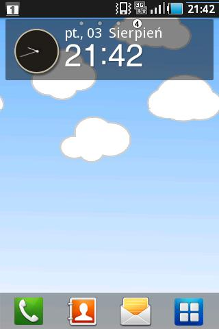 Cute Clouds Live Wallpaper