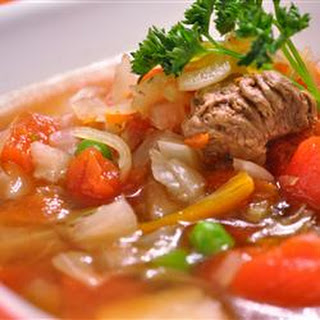 Venison Vegetable Soup.