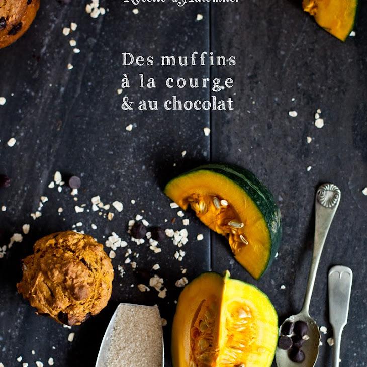 Butternut Squash and Chocolate Muffins.