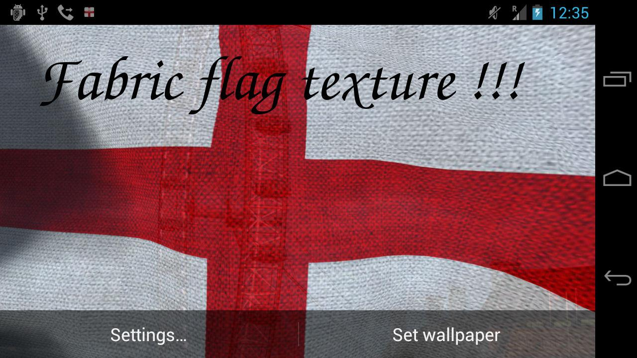 3d england flag live wallpaper android apps on google play