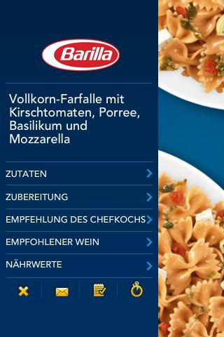 iPasta DE - screenshot