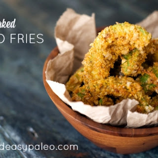 Paleo Baked Avocado Fries.
