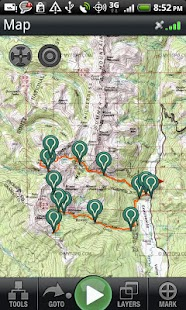 Backpacker GPS Trails Pro- screenshot thumbnail