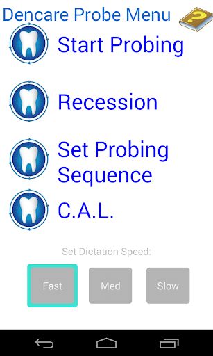 Dental Probing App Hygienist