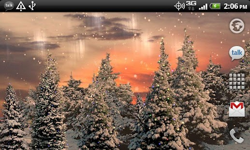 Snowfall Free Live Wallpaper- screenshot thumbnail