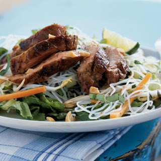 Vietnamese Caramelized Pork and Rice Noodle Salad.