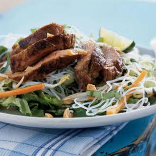 Vietnamese Caramelized Pork and Rice Noodle Salad.