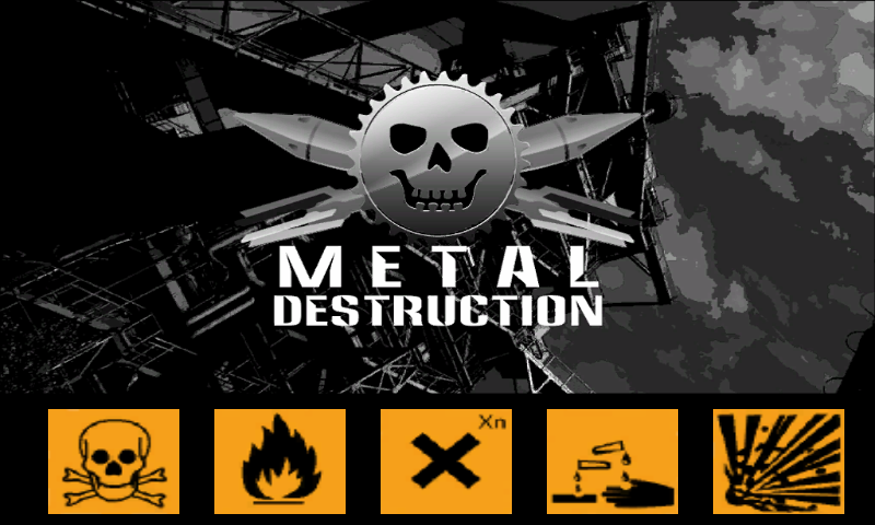 Metal Destruction Lite - screenshot