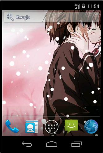 Anime Couple Loving