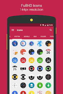 Easy Circle - icon pack screenshot 16