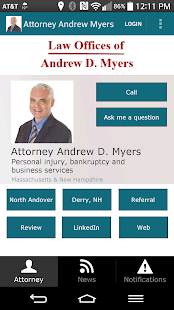 Attorney Andrew D. Myers- screenshot thumbnail