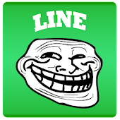 RageTrollFace Sticker for LINE