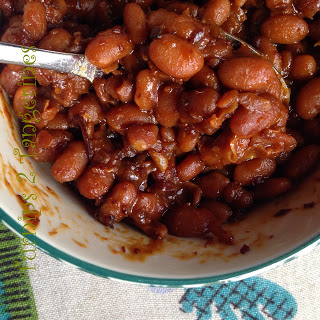 Apple Cider Baked Beans