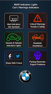 BMW Cars Indicators Lights
