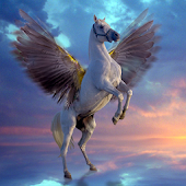 Flying Horse Live Wallpaper