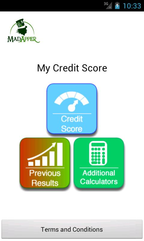 My Credit Score - screenshot