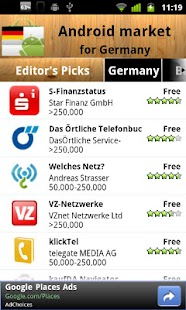 Germany Android Market - screenshot thumbnail
