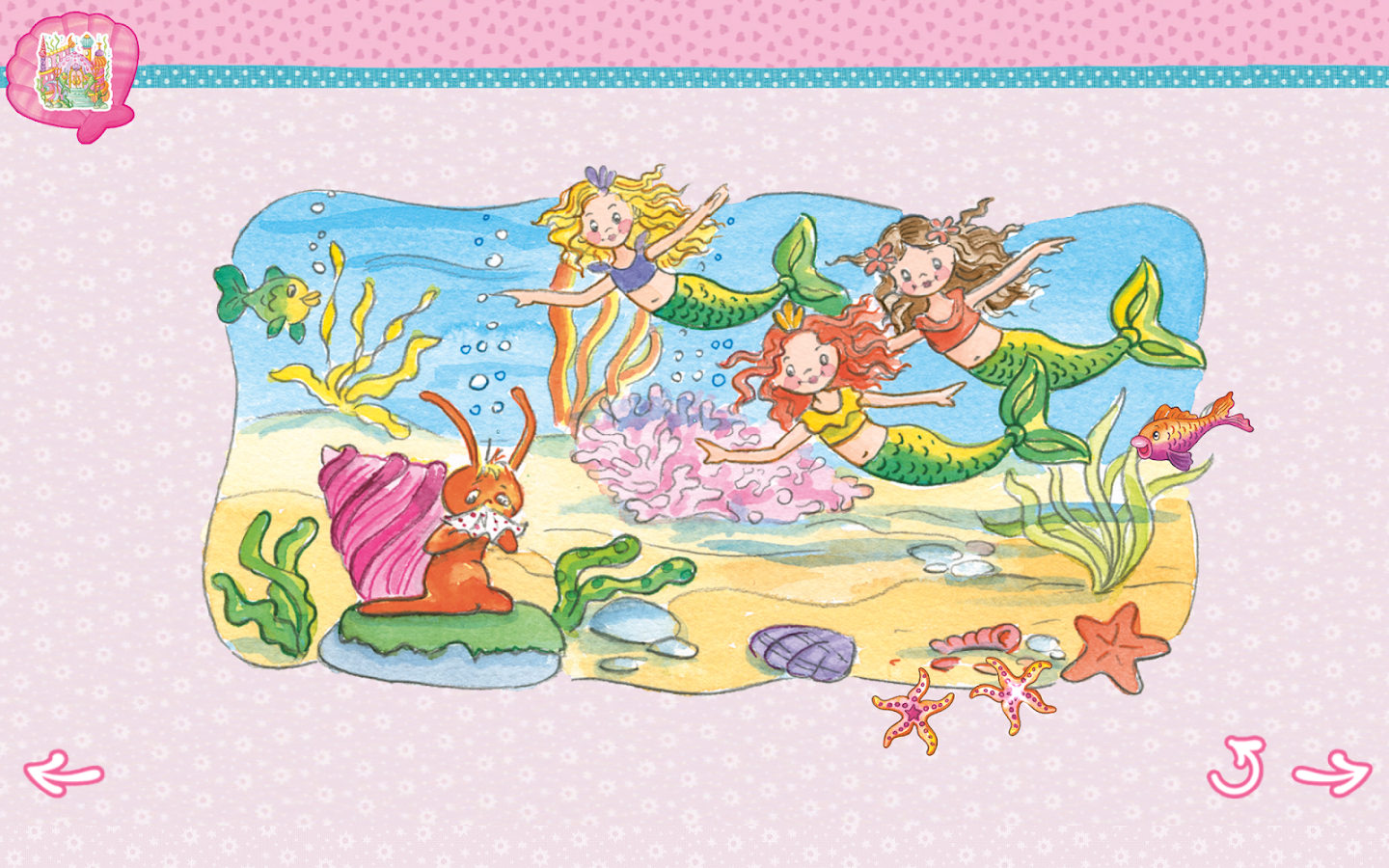 Princess lillifee coloring pages - Prinzessin Lillifee Und Jule Screenshot