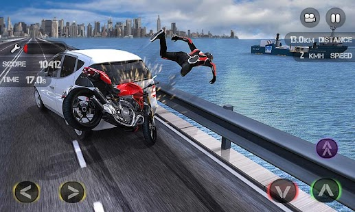 Race the Traffic Moto FULL- screenshot thumbnail